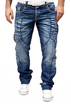 Cipo & Baxx Jeans Many Stitches Blue Zip Pockets Urban City Style W29-38 L32 L34 D&R Fashion http://www.amazon.co.uk/dp/B00QMIKRUC/ref=cm_sw_r_pi_dp_qymCwb08DX006