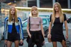 STYLE DU MONDE / Milan SS 2017 Street Style: Lexi Boling, Hanne Gaby Odiele and Anna Ewers  // #Fashion, #FashionBlog, #FashionBlogger, #Ootd, #OutfitOfTheDay, #StreetStyle, #Style