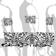 29 Best Maori Armband Tattoo Stencils Images Polynesian Tattoos