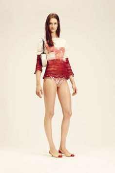 Bottega Veneta Resort 2014 runway fashion