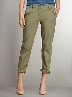 Slim Slouch Twill Pant from New York & Company