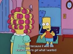 """bart"" - The Simpsons Way of Life The Simpsons, Simpsons Funny, Simpsons Quotes, Cartoon Quotes, Cartoon Pics, Bobs Burgers, Tv Show Quotes, Movie Quotes, All I Ever Wanted"