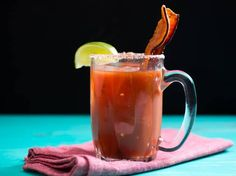 ... about Bacon Beverages on Pinterest | Bloody mary, Martinis and Bacon