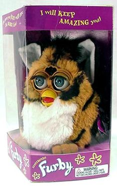 omg i wonder if my mom still has any of my old furbies tucked away somewhere! i'm gonna have to find out haha