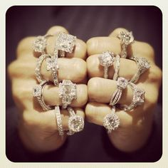 Tacori.  I'll take them all! xoxo