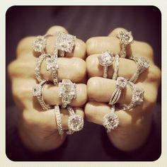 Tacori.  I'll take them all! xoxo