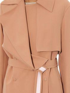 Richard Nicoll Double-crepe trench coat