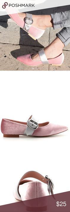 Baby Doll Blush One Strap Flats Very lovely Flats only those Dolls that are brave to wear them very cute adorable Flats! Shoes Flats & Loafers
