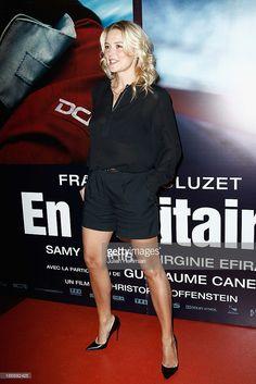 Virginie Efira attends 'En Solitaire' Paris Premiere at Cinema Gaumont Capucine on November 4, 2013 in Paris, France.