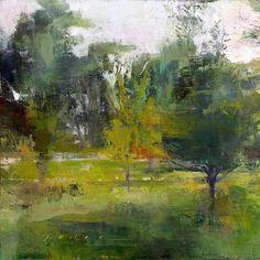 bofransson:    Douglas Fryer - Garden at Twighlight