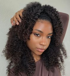 Protective Hairstyles, Braided Hairstyles, Selfies, Curly Hair Styles, Natural Hair Styles, Brown Skin Girls, Hair Laid, Natural Hair Inspiration, Queen Hair