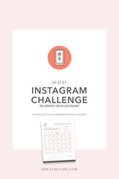 Take a 30 day challenge with me as I attempt to grow my Instagram account with more engaged followers. See my five-step process and then come back 30 days later.