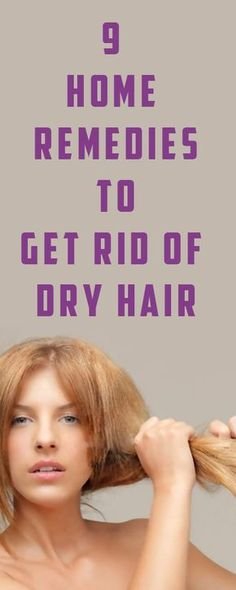 Hair Remedies - The look of dull and dry hair doesn't change even after washing. Besides this, dandruff is commonly observed with the dry hair. Herbal Cure, Herbal Remedies, Health Remedies, Dry Hair Remedies, Holistic Remedies, Natural Cold Remedies, Hair Loss Shampoo, Hair Loss Treatment, Health Matters