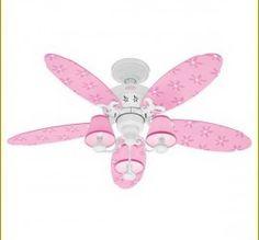 Pink Crystal Chandelier Ceiling Fan