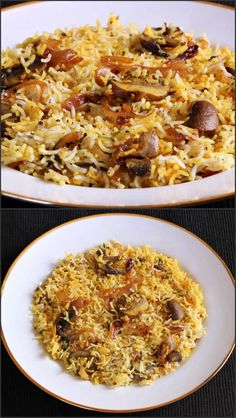 Quick Mushroom Biryani is a very flavorful and delicious one pot meal that will be loved by people of all age groups.