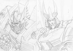 Twitter / markerguru: more AA sketches drawn out ...