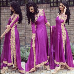 As promised here is the full outfit from love this colour! Fashion Designer, Indian Designer Wear, Designer Dresses, Muslim Fashion, Bollywood Fashion, Indian Fashion, Pakistani Outfits, Indian Outfits, Anarkali Dress