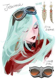 by Mari Shimazaki (Bayonetta & Bayonetta 2 Character Designer)