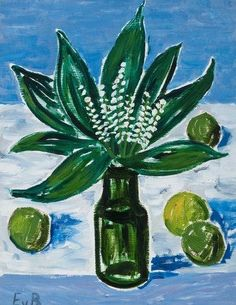 EERO VON BOEHM  Flowers in a Vase