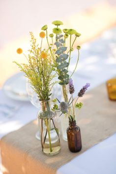 Scripts, Florals, Glass Vase, Wedding Ideas, Home Decor, Homemade Home Decor, Flowers, Script Typeface, Decoration Home
