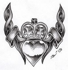 ...celtic claddagh I... by roblfc1892 on DeviantArt