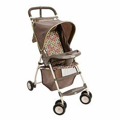 Cosco Umbria Stroller Circus Baby Storage Covered