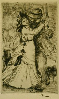 Renoir, The Dance in the Country, 1890