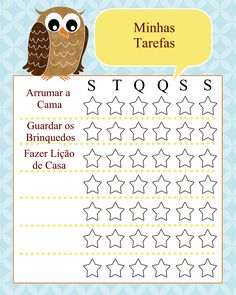 Free family chore cards and chart templates that you can use to help organize your household. These chore charts for kids will help teach responsibility and self-reliance. These free printable chore chart templates include chores, behavior, family and re… Free Printable Chore Charts, Chore Chart Kids, Free Printables, Preschool Printables, Chore Cards, Job Chart, Charts For Kids, Behaviour Chart, How To Make Bed