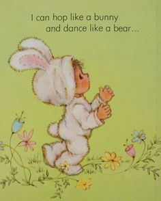 Hop Like a Bunny, Dance Like a Bear! - Illustrated by Mary Hamilton