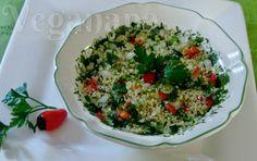 Veganana: Salada de Quinoa com Temperos Marinados