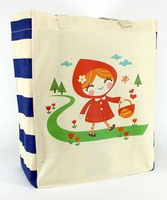 Take a look at the Little Red Tote on #zulily today!