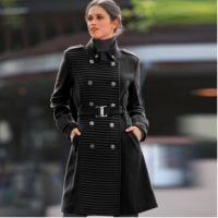 Manteau caban officier femme
