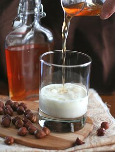Homemade Low Carb Hazelnut Liqueur Recipe - copycat Frangelico that is sugar-free!