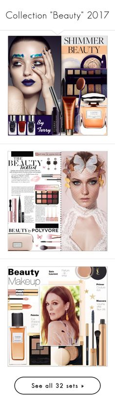 """Collection ""Beauty"" 2017"" by alves-nogueira ❤ liked on Polyvore featuring Beauty, makeup, beauty, By Terry, Terry de Gunzburg, Luxie, Natural Life, Sephora Collection, Too Faced Cosmetics and Christian Louboutin"