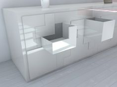 I want one! Tetris Furniture from Pedro Machado
