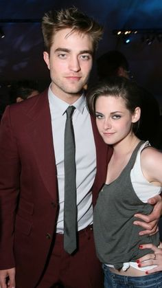 Robert Pattinson ❤ Kristen Stewart ❤ Kristen Stewart & Rob Pattinson at the Eclipse premiere afterparty - June 2010