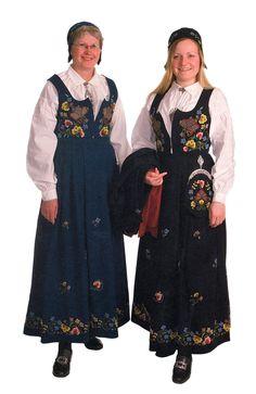 Gudbrandsdølen Dagningen - Her er kvinnebunadene Kimono Top, How To Wear, Dresses, Norway, Style, Fashion, Dress, Vestidos, Swag