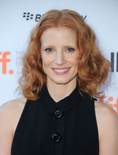 Jessica Chastain Hair Pin - Jessica Chastain adorned her boho-style hair with a diamond pin by Chopard for the Cannes premiere of 'Lawless.'