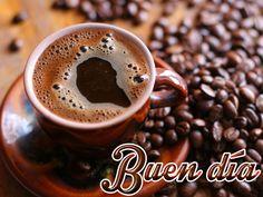 Buen dia+taza de cafe