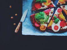 vegan pizza, gluten free pizza, pizza sin gluten, pizza vegana, food photography, food styling