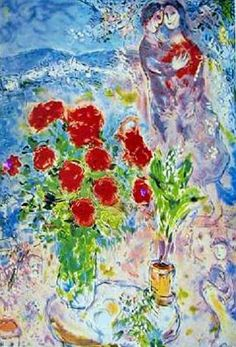 love Marc Chagall, for my walls in my new #MOMCAVE