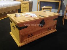 More and more often common element in the bedroom is a chest, where you can store for example. Linens. Chest waxed pine will add charm to any bedroom.  Meble Woskowane – Google+