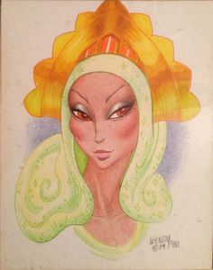 Savah from Elfquest by Wendy Pini.