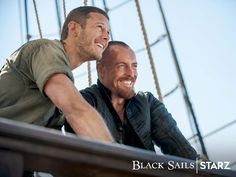 """Behind the scenes the tension is forgotten"" ~ Black Sails 