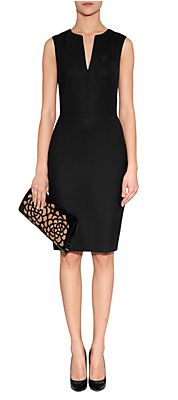 BlackWoolDressbyPAULSMITHBLACK | Luxury fashion online | STYLEBOP.com
