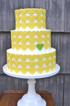 cake + hearts