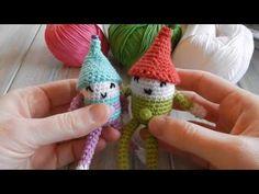 Christmas Elf Crochet Tutorial - YouTube