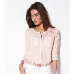 Camisas para mujer manga al codo evasé 2 Office Outfits, New Dress, Blazer, Sweaters, Jackets, Shirts, Clothes, Dresses, Women