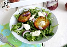 Healthy recipe: Grilled Peach Salad with Buffalo Mozzarella and Arugula