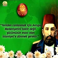 """Sultan II. Abdülhamit, Batılı devletlerin dinimizi hedef alan olumsuz tavırlarına karşı da Son derece şefkatli bir insan olan Sultan II. Abdülhamit'in kendisini öldürmek isteyenleri bağışlaması dünya siyaset tarihinde ender rastlanan bir olaydır. Elbette bu durum onun Allah'ın bildirdiği emirlere uyduğunun, O'nun Kuran'da bildirdiği gibi af yolunu benimsediğinin en güzel örneklerinden biridir. Bu konu Kuran'da şöyle bildirilir: """"Sen af (veya kolaylık) yolunu benimse…"""" (Araf Suresi, 199) Allah, Religion, History, Quotes, Historia, God, Religious Education, Allah Islam"""